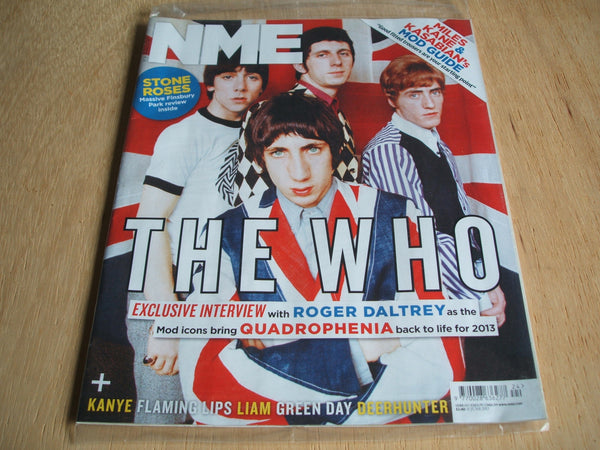 new musical express magazine 15th june  2013