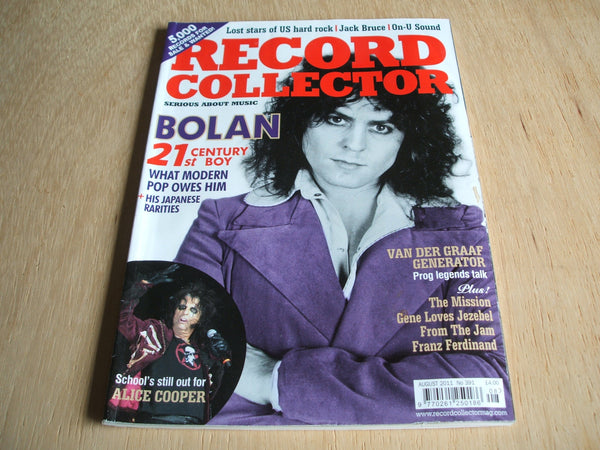 record collector magazine august 2011  No 391