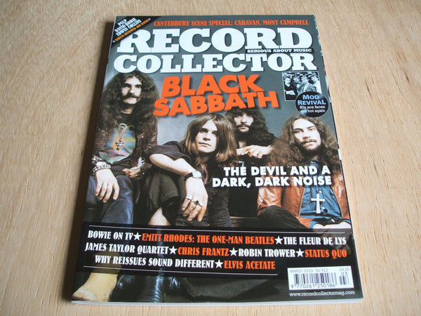 record collector magazine march 2013  No 412