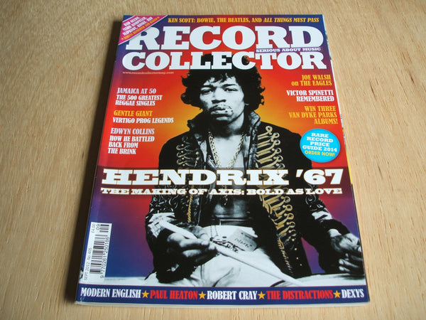 record collector magazine september 2012  No 405