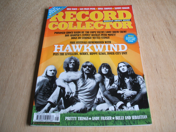 record collector magazine august  2012  No 404