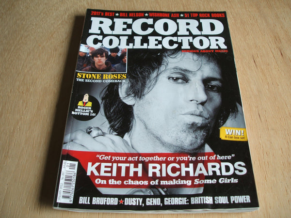 record collector magazine january 2012 No 397