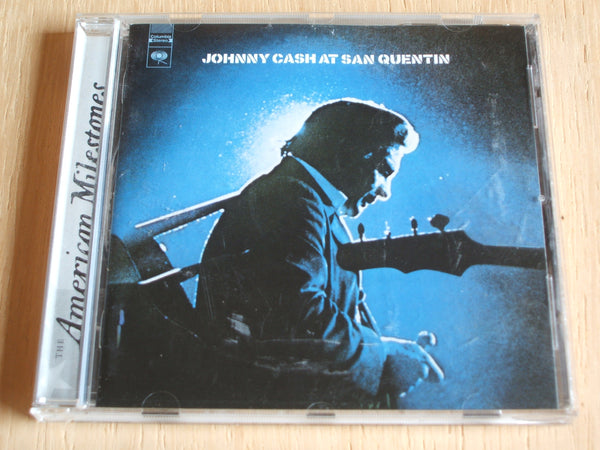 johnny cash  At San Quentin (The Complete 1969 Concert) compact disc album