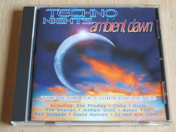 various artists Techno Nights Ambient Dawn  double compact disc album