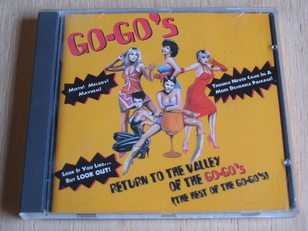 Return To The Valley Of The Go-Go's (The Best Of The Go-Go's) compact disc album