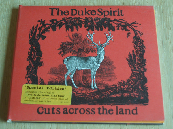the duke spirit  cuts across the land  special edition double ltd compact disc album