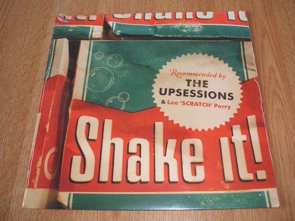 The upsessions featuring lee scratch perry vinyl lp + compact disc