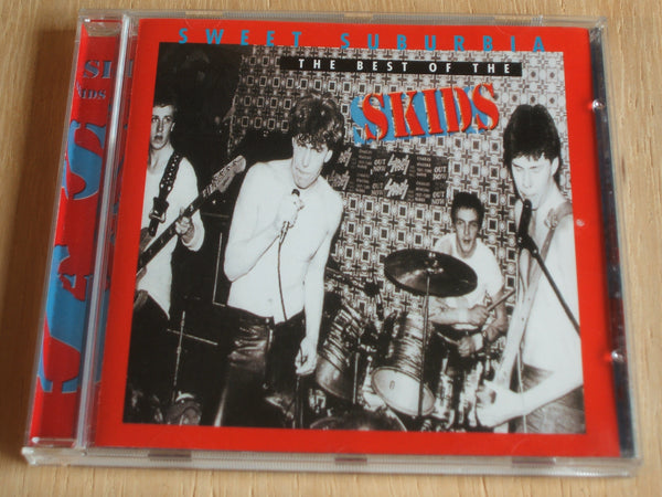 the skids sweet suburbia compact disc album