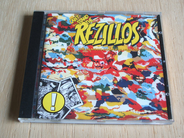 Can't Stand The Rezillos: The (Almost) Complete Rezillos compact disc album