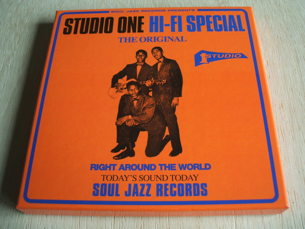 "Studio One Hi-fi Special 5 x 7 "" vinyl singles box set rsd 2017 ltd edition"