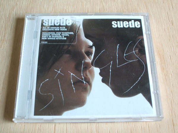 suede singles collection compact disc album
