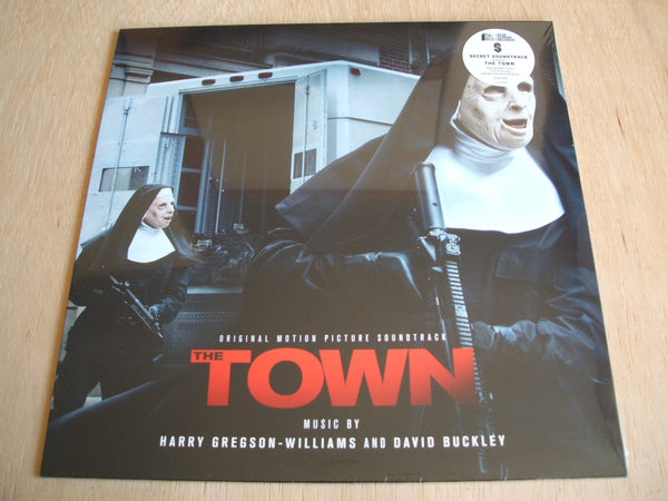 harry gregson williams david buckley the town OST ltd 052/500 Clear/Red Splatter vinyl