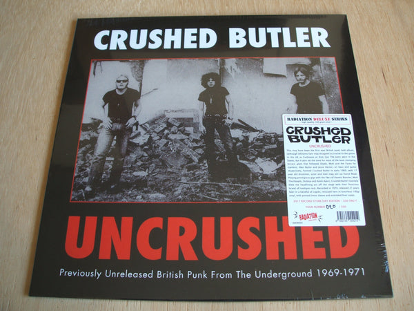 crushed butler uncrushed 2017 record store day numbered 020/500 vinyl lp
