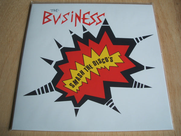 the business smash the discos Compilation ltd Reissue Red vinyl lp