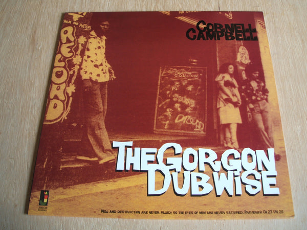 cornell campbell The Gorgon Dubwise 2014 kingston sounds vinyl lp