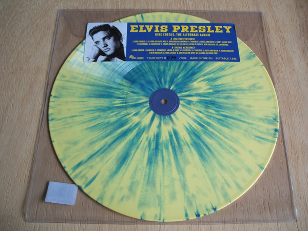elvis presley King Creole The Alternate Album Vinyl LP yellow / green