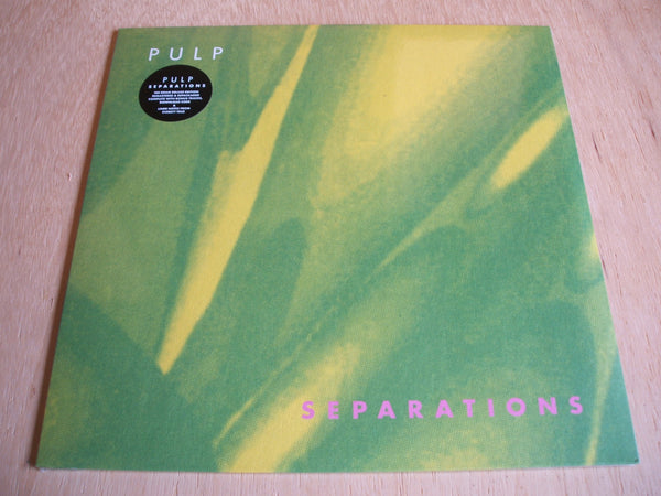 pulp seperations 2017 fire records reissue 180gram bonus tracks + download card
