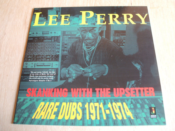 lee perry Skanking With The Upsetter - Rare Dubs 1971-1974 J.A recordings vinyl lp