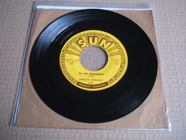 harold dorman in the beginning/ wait til' saturday night 1962 usa sun 377 original 7""