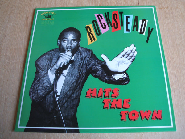 various Rocksteady Hits The Town kingston sounds vinyl lp