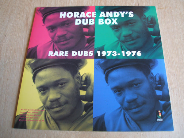 horace andy Dub Box - Rare Dubs 1973-1976 jamaican recordings vinyl lp