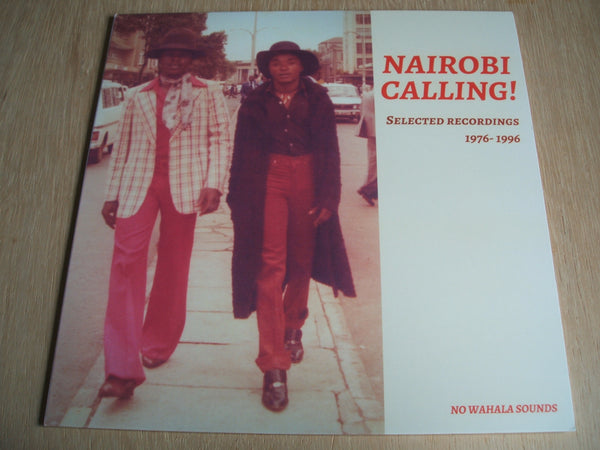 NAIROBI CALLING !     'Selected Recordings 1976-1996' vinyl lp