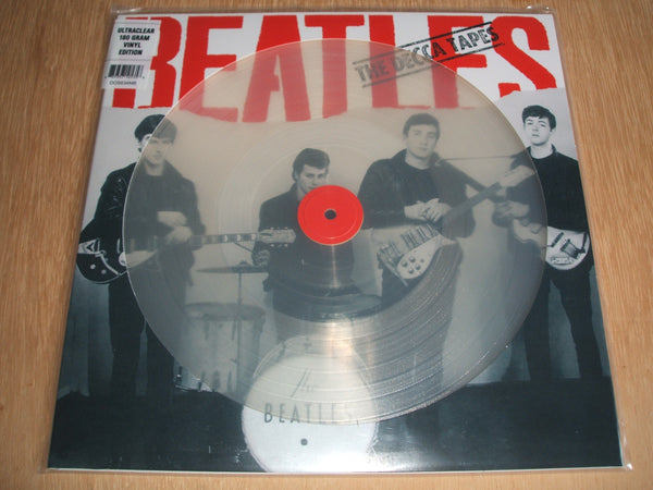 "the beatles the decca tapes 12"" clear vinyl lp"