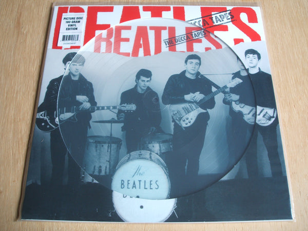 "the beatles the decca tapes 12"" vinyl picture disc lp"