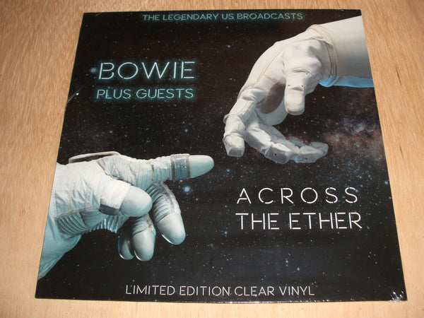 david bowie Across The Ether The Legendary Us Brodcasts clear vinyl lp