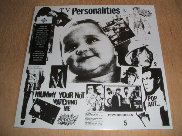 television personalities mummy your not watching me RSD 2017 marbled vinyl lp