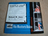 "Richard Jones And His Jazz Wizards ‎– Richard M. Jones Plays The Blues 7"" vinyl"