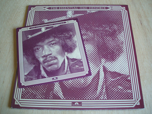 "The Essential Jimi Hendrix 2 X LP + 7"" SINGLE uk pressing Vinyl Lp"