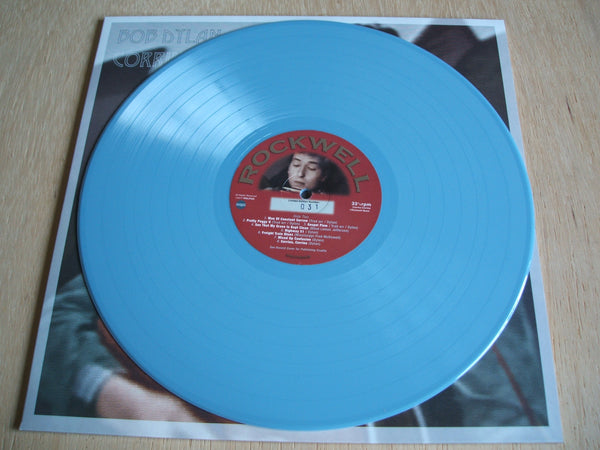 bob dylan corrina corrina 1961/62 studio masters blue vinyl ltd numbered lp