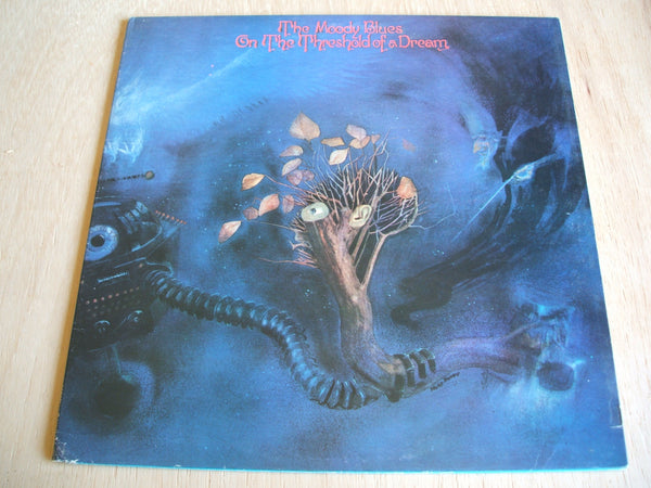 the moody blues on the threshold of a dream 1969 uk issue Vinyl Lp
