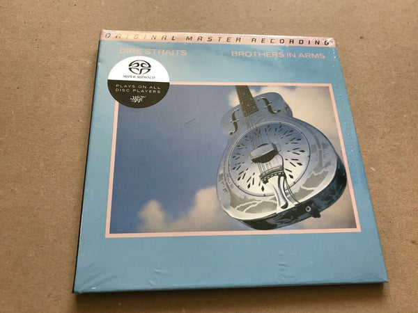 Dire Straits ‎Brothers In Arms lUDSACD 2099 MFSL ltd numbered edition