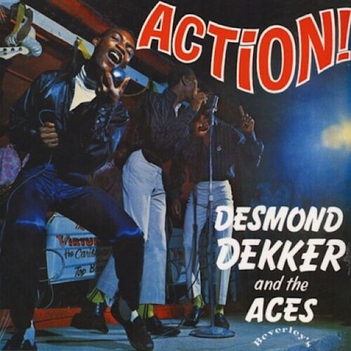 Desmond Dekker & The Aces - Action! Vinyl lp reissue 2019 (Beverley's) LP003