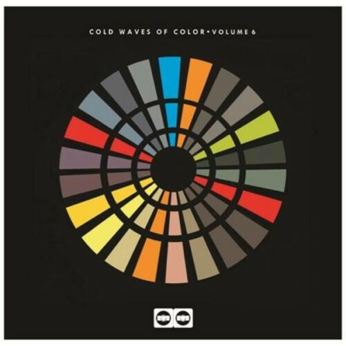 cold waves of colour vol 6 vinyl lp + poster