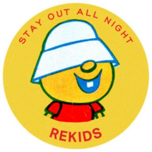 "RADIO SLAVE- STAY OUT ALL NIGHT 12"" VINYL EP REKIDS159    PRE ORDER"