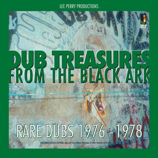 LEE PERRY  'DUB TREASURES FROM THE BLACK ARK'  Dub Reggae  LP  JRLP039  (Jamaican Recordings)