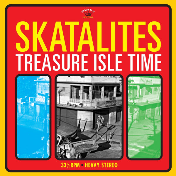 Skatalites  'TREASURE ISLE TIME'  Dub Reggae  LP  KSLP027  (Kingston Sounds)