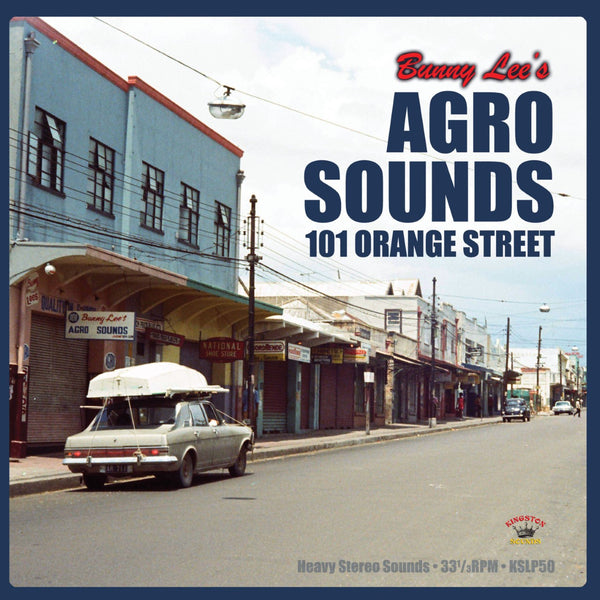 Bunny Lee  'AGRO SOUNDS- 101 ORANGE STREET'  Dub Reggae  LP  KSLP050 (Kingston Sounds)