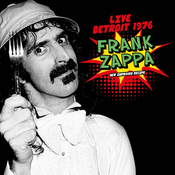 LIVE DETROIT 1976 (2CD) by FRANK ZAPPA Compact Disc Double  TLN2CD3008