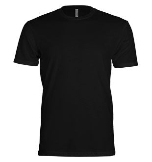 Mens Black Short Sleeve Tee