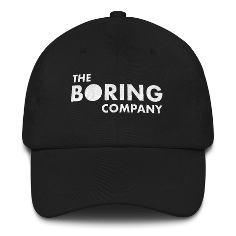 The Boring Company Dad Hat - Topshelf7