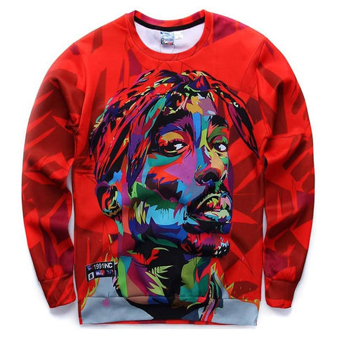 2Pac Abstract Crew Neck - Topshelf7