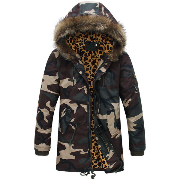 Camo Parka With Fur Hood - Topshelf7