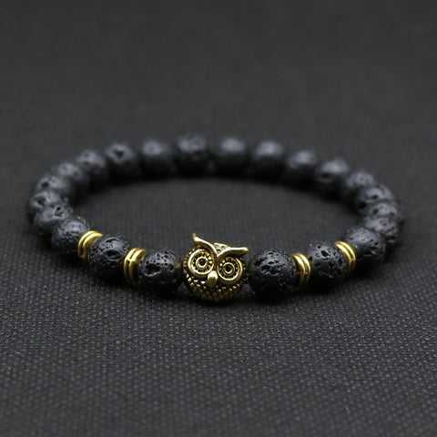 All Seeing Owl Stone Bracelet - Topshelf7