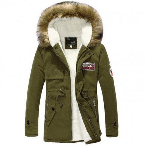 Army Parka with Fur Hood - Topshelf7