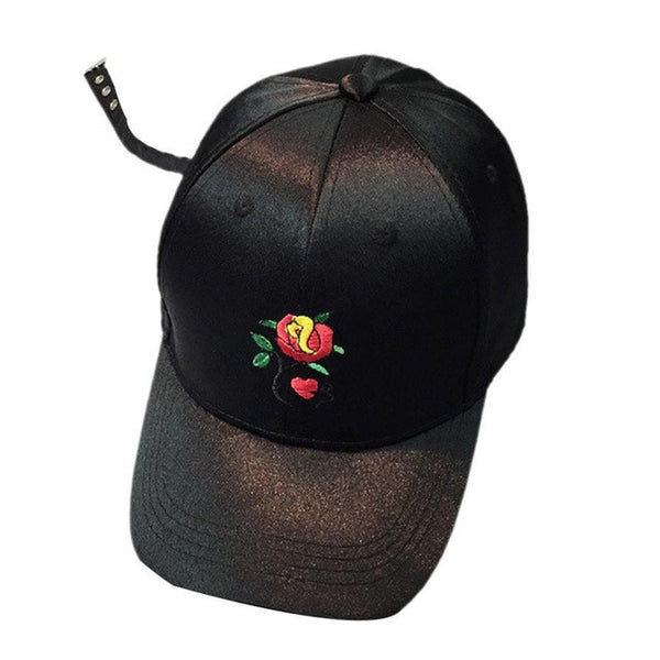 Red Rose Snapback - Topshelf7