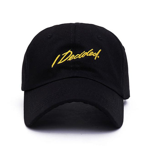 """I Decided"" Big Sean Dad Hat - Topshelf7"